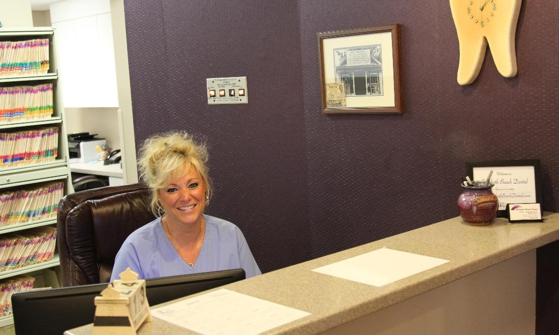 The friendly front desk staff of Rehoboth Beach Dental in Rehoboth Beach, DE