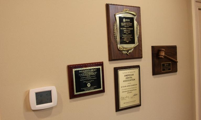 Dr. Leciejewski's Credentials at Rehoboth Beach Dental in Rehoboth Beach, DE