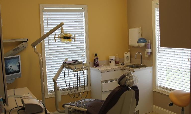 The operatory room at Rehoboth Beach Dental in Rehoboth Beach, DE